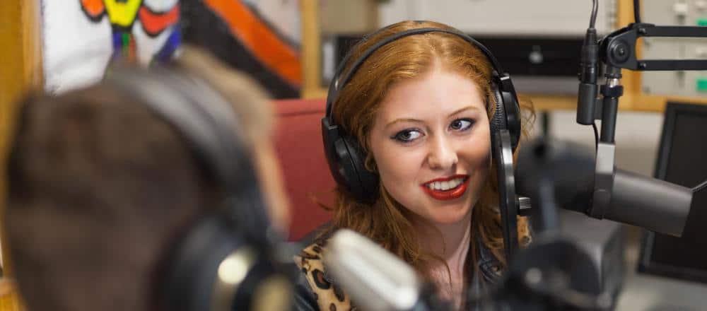 How to present on radio